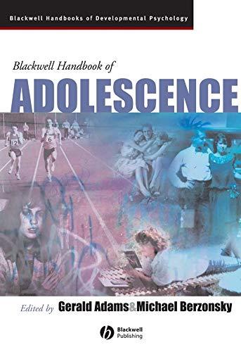 9780631217435: Adolescent Development: The Essential Readings