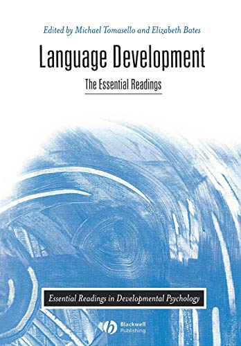 9780631217459: Language Development: The Essential Readings