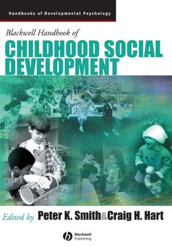 9780631217534: Blackwell Handbook of Childhood Social Development