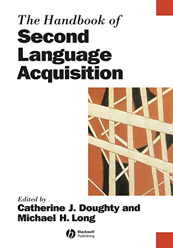 9780631217541: The Handbook of Second Language Acquisition (Blackwell Handbooks in Linguistics)