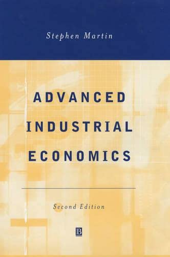 9780631217565: Advanced Industrial Economics