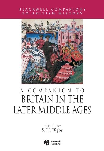 9780631217855: A Companion to Britain in the Later Middle Ages (Blackwell Companions to British History)