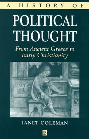 9780631218210: History of Political Thought