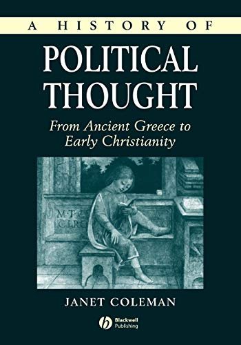 9780631218227: A History of Political Thought: From Ancient Greece to Early Christianity
