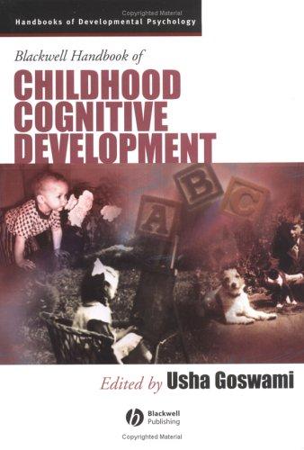 9780631218401: Blackwell Handbook of Childhood Cognitive Development