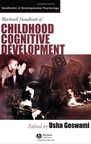 9780631218418: Blackwell Handbook of Childhood Cognitive Development