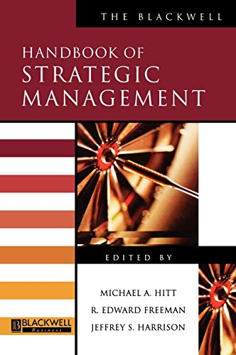 9780631218609: The Blackwell Handbook of Strategic Management (Blackwell Handbooks in Management)