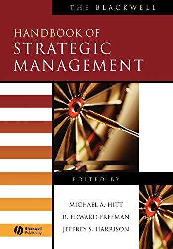 9780631218616: The Blackwell Handbook of Strategic Management
