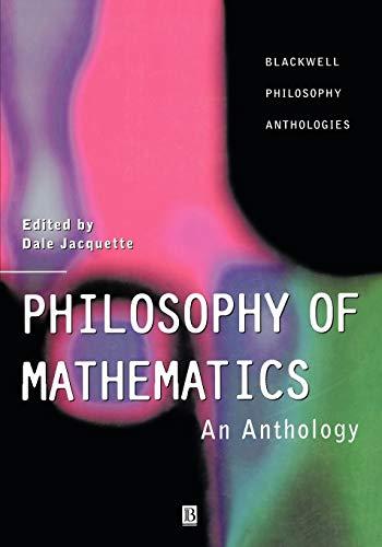 9780631218708: Philosophy of Mathematics: An Anthology