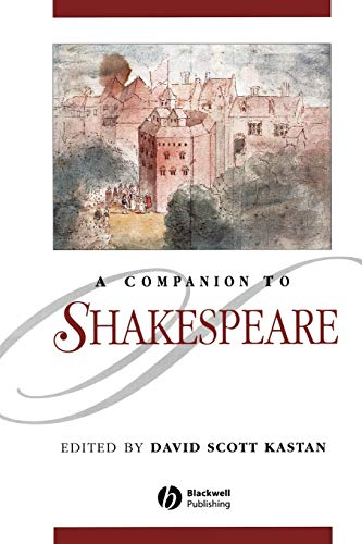 9780631218784: A Companion to Shakespeare