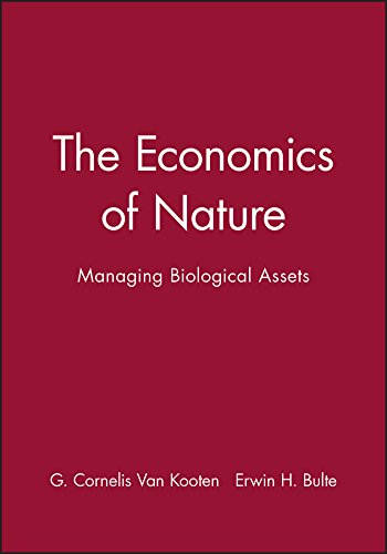 9780631218944: The Economics of Nature: Managing Biological Assets