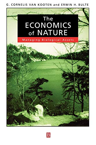 9780631218951: The Economics of Nature: Managing Biological Assets