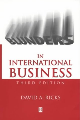 9780631219125: Blunders in International Business (Blackwell Business)