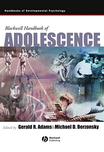 9780631219194: Blackwell Handbook of Adolescence
