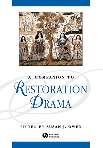 9780631219231: A Companion to Restoration Drama