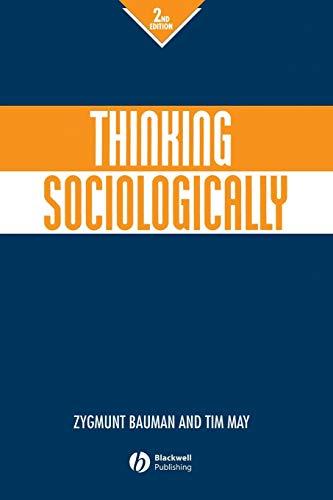 9780631219293: Thinking Sociologically