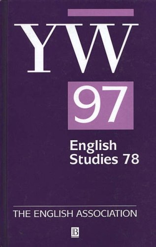 9780631219316: The Year's Work in English Studies Volume 78: 1997 (v. 78)