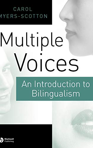 9780631219361: Multiple Voices: An Introduction to Bilingualism
