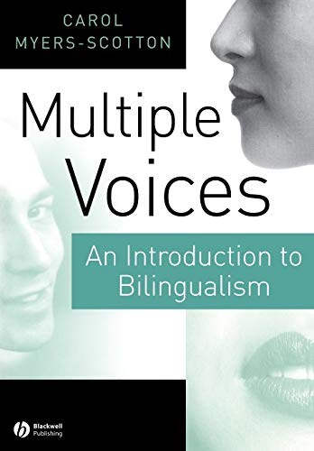 9780631219378: Multiple Voices: An Introduction to Bilingualism
