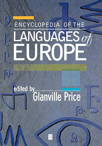9780631220398: Encyclopedia of the Languages of Europe