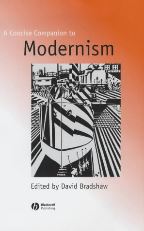 9780631220541: A Concise Companion to Modernism (Concise Companions to Literature and Culture)