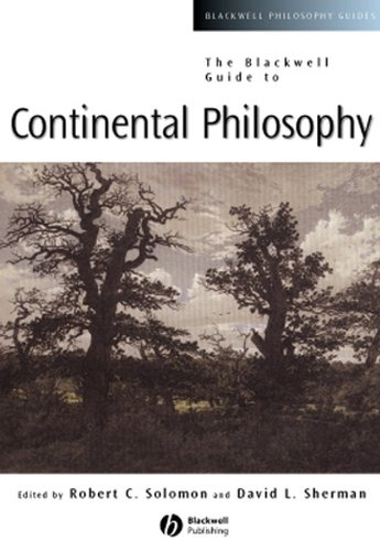 9780631221241: The Blackwell Guide to Continental Philosophy (Blackwell Philosophy Guides)