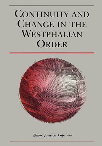 9780631221456: Continuity and Change in the Westphalian Order