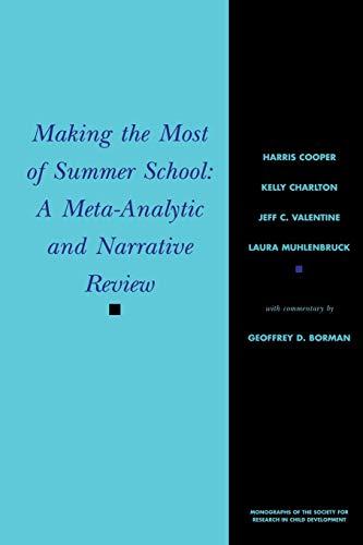 Making the Most of Summer School -: Cooper, Harris, Charlton,
