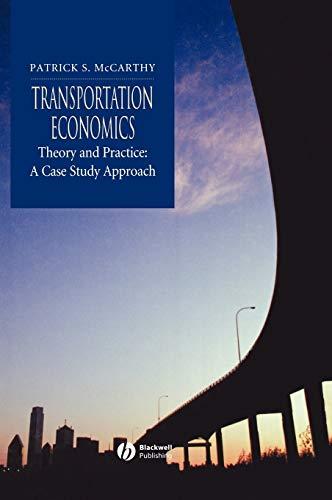 9780631221807: Transportation Economics