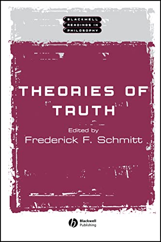 9780631222163: Theories of Truth (Wiley Blackwell Readings in Philosophy)