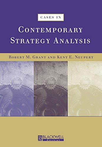 9780631222460: Cases in Contemporary Strategy Analysis