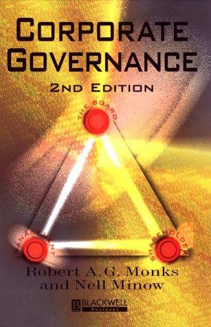9780631222637: Corporate Governance