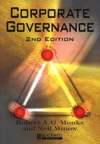 9780631222644: Corporate Governance