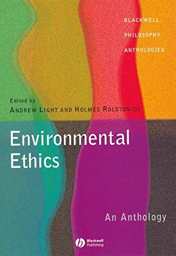 9780631222941: Environmental Ethics: An Anthology (Blackwell Philosophy Anthologies)