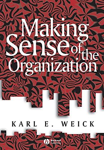 9780631223191: Making Sense of the Organization