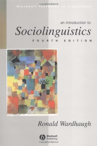 9780631225409: An Introduction to Sociolinguistics (Blackwell Textbooks in Linguistics)