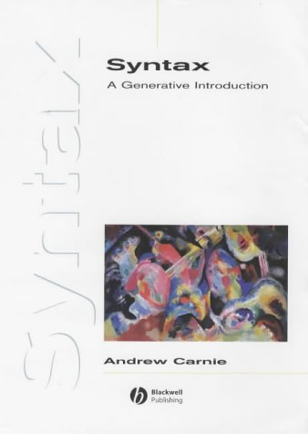 9780631225430: Syntax: Instructor's Handbook: A Generative Introduction (Introducing Linguistics)