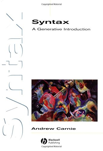 9780631225447: Syntax:A Generative Introduction (Introducing Linguistics)