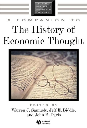 9780631225737: A Companion to the History of Economic Thought (Blackwell Companions to Contemporary Economics)