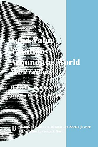 Land-Value Taxation Around the World: Taxation Around: Robert V. Andelson