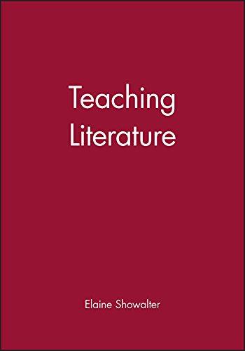9780631226246: Teaching Literature