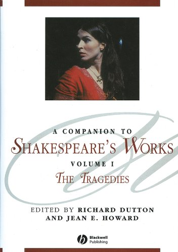 9780631226321: A Companion to Shakespeare's Works, Volume I: The Tragedies (Blackwell Companions to Literature and Culture)