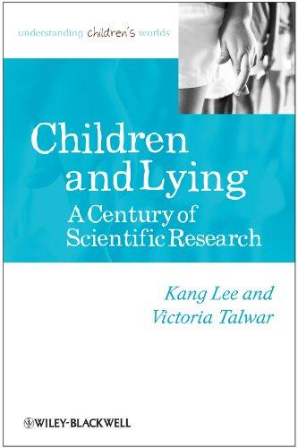 9780631226482: Children and Lying: A Century of Scientific Research (Understanding Children's Worlds)