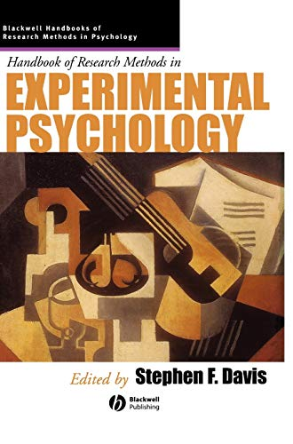 9780631226499: Handbook of Research Methods in Experimental Psychology (Blackwell Handbooks of Research Methods in Psychology)