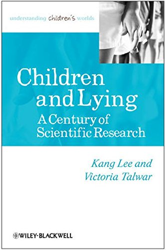 9780631226505: Children And Lying: A Century Of Scientific Research