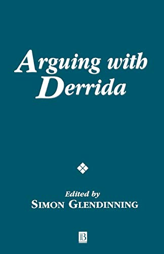 9780631226529: Arguing with Derrida (Ratio Special Issues)