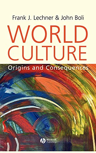 9780631226765: World Culture: Origins and Consequences