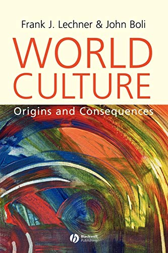 9780631226772: World Culture: Origins and Consequences