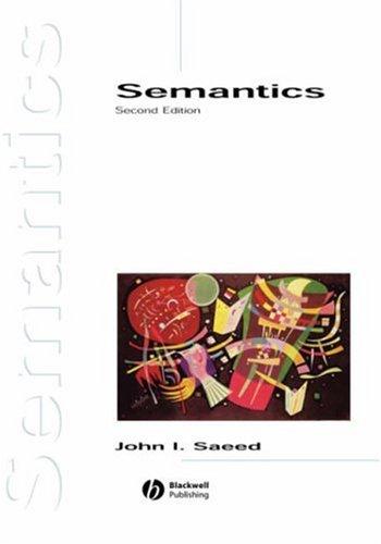 9780631226925: Semantics (Introducing Linguistics)