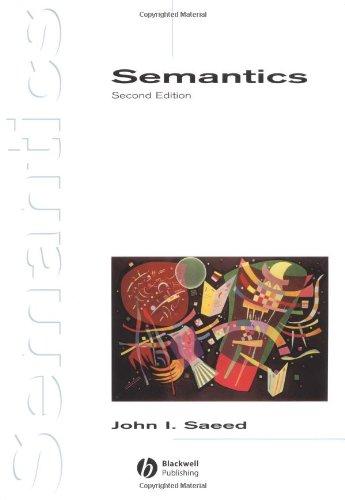 9780631226932: Semantics (Introducing Linguistics)